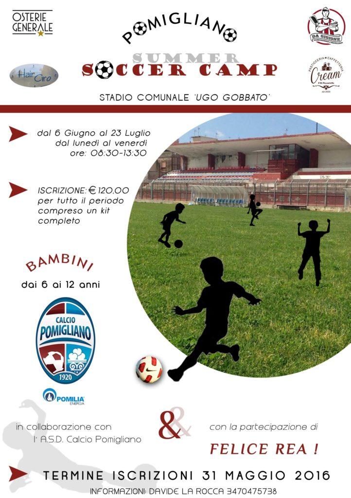 pomigliano soccer camp