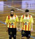 Fabio Brunelli e Fabio Iannelli, entrambi in gol contro lo Junior Domitia