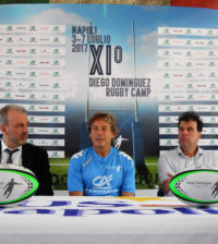 conferenza stampa diego dominguez rugby camp